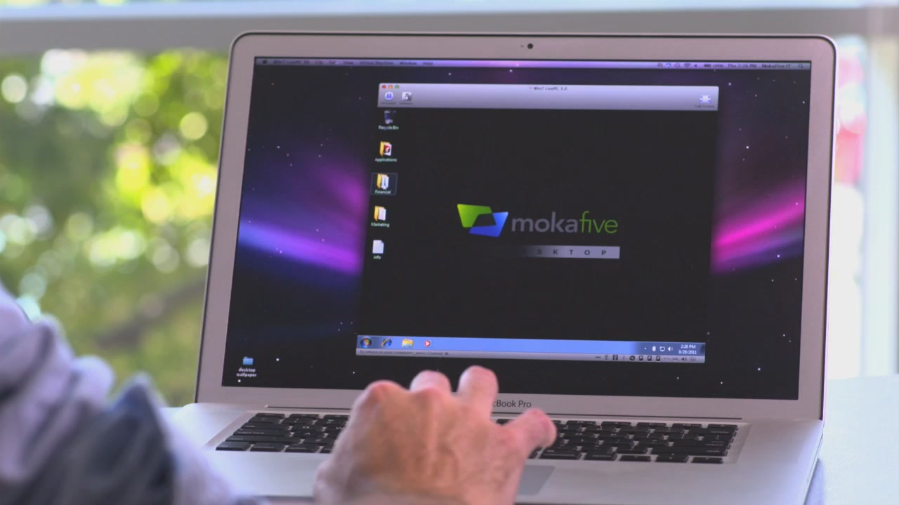 MokaFive on Intelligent Desktop Virtualization